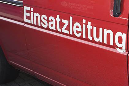 Brand in Industriebetrieb in Niederfischbach