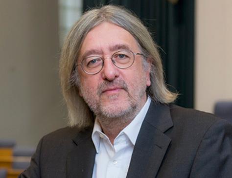 Grüner Fraktionschef Bernhard Braun im Westerwald