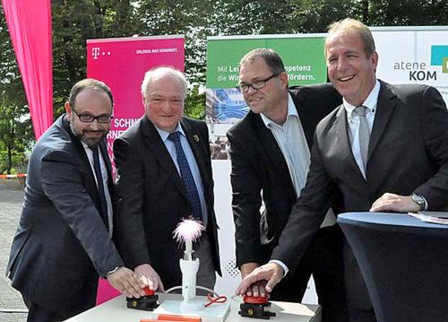 Flammersfeld: Die Verbandsgemeinde liegt jetzt an der Datenautobahn