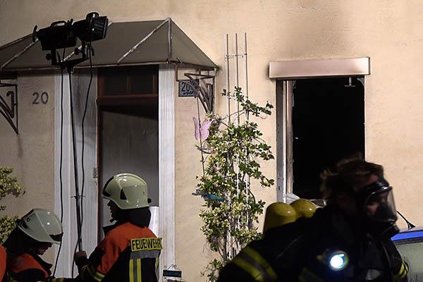Drei Verletzte bei Zimmerbrand in Höhr-Grenzhausen