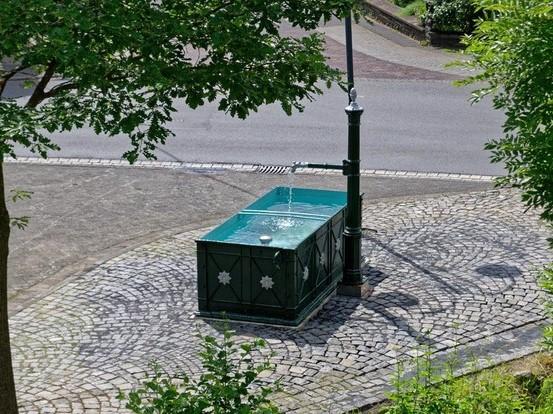 Brunnenfest in Gehlert