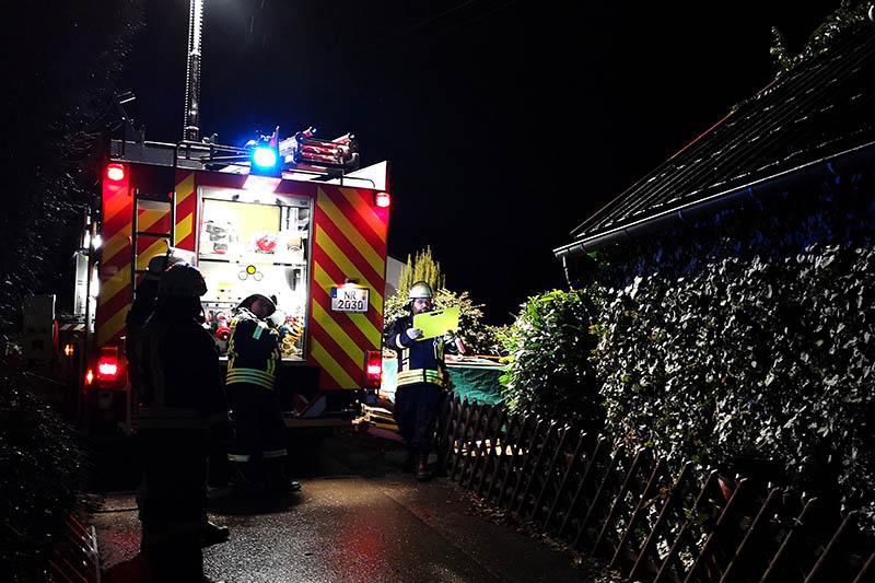 Brand in Waldbreitbach-Gasbitze schnell gelöscht