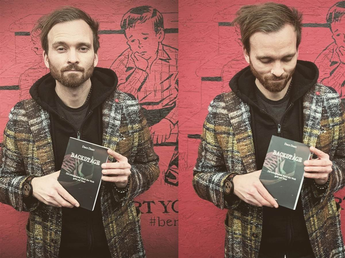 Aufregend und trostlos: Sänger von Destination Anywhere veröffentlicht Buch