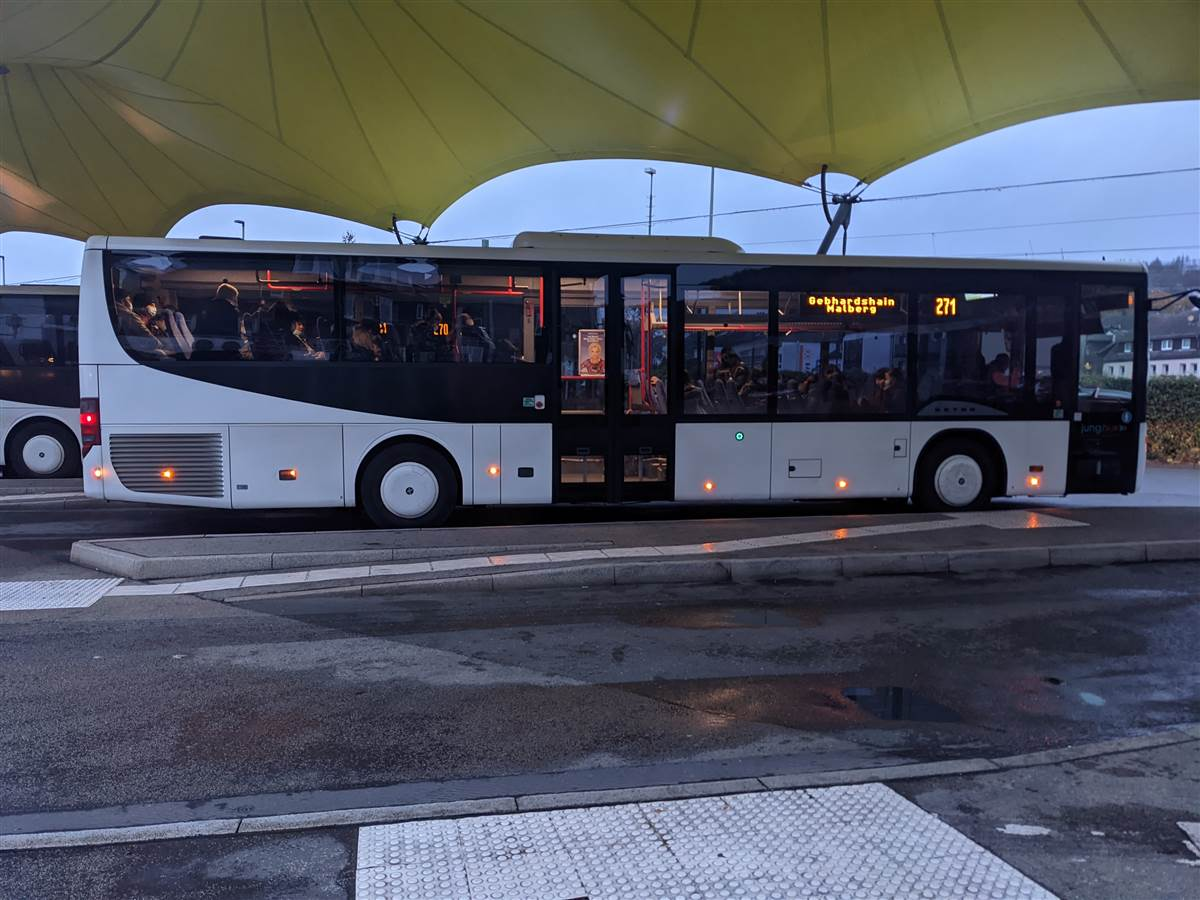 Busfahrer-Streik und Westerwaldbus: Weiterhin Notfallfahrplan