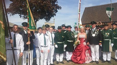 Sch�tzenbruderschaft Sch�nstein beim Bundesfest in Xanten