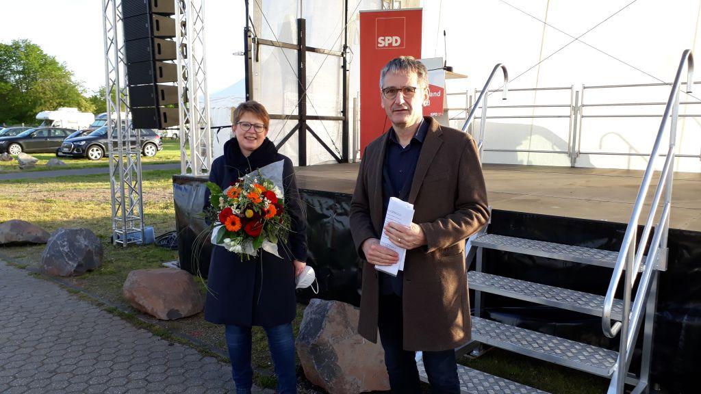 Dr. Tanja Machalet SPD-Spitzenkandidatin