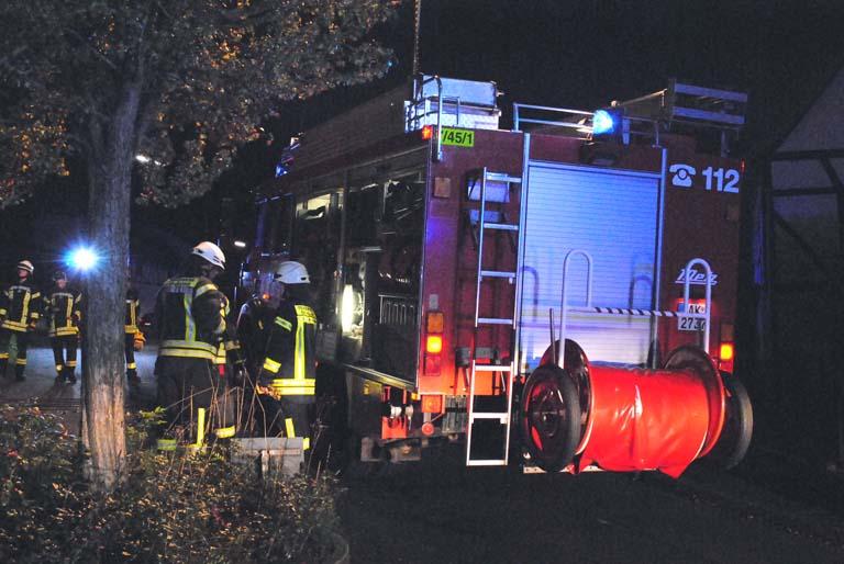 Vermeintlicher Kaminbrand sorgte in Burglahr für Aufregung