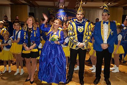 Prinz Andr� I und Prinzessin Kati I regieren nun offiziell die Lahrer Jecken