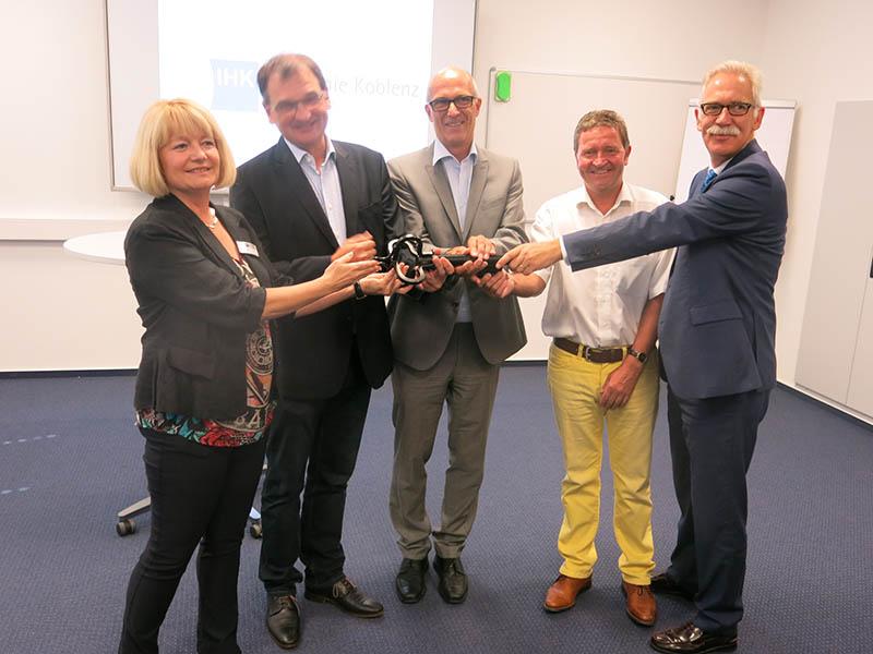 Campus bei der IHK-Akademie in Neuwied eröffnet