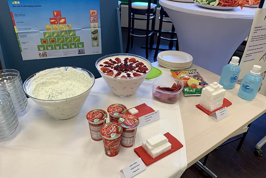 Ernährungsprojekt bereichert CAP Markt nachhaltig