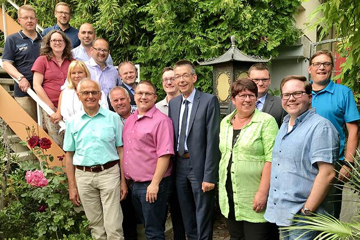 CDU-Stadtratsfraktion Neuwied nimmt Arbeit auf