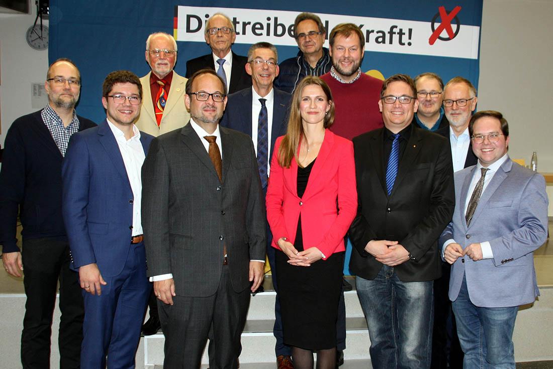 Das frisch gewählte Vorstandsteam des CDU-Stadtverbandes Neuwied. Foto: CDU