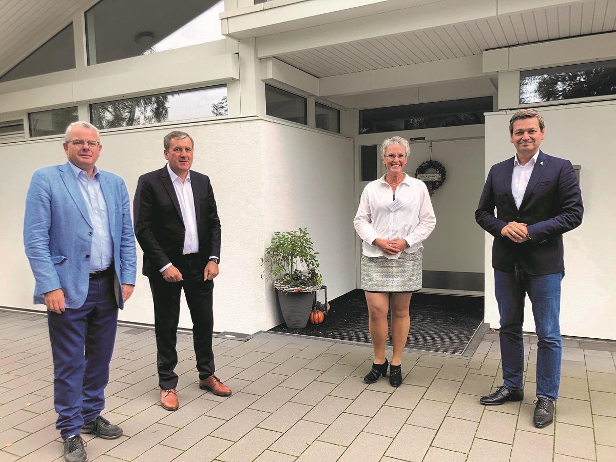 Dr. Andreas Nick besucht das Hospiz St. Thomas in Dernbach