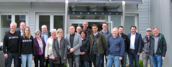 Ratsmitglieder der CDU besuchten die Firma Peter Bohl in Herdorf