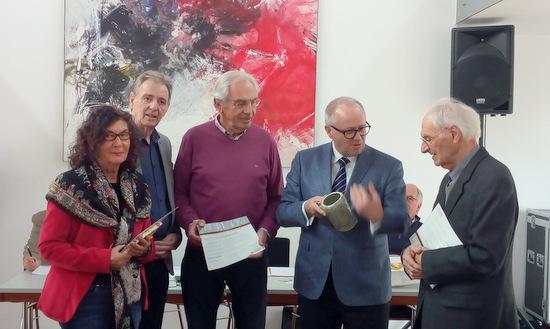 Hammer CDU ehrte langj�hrige Mitglieder