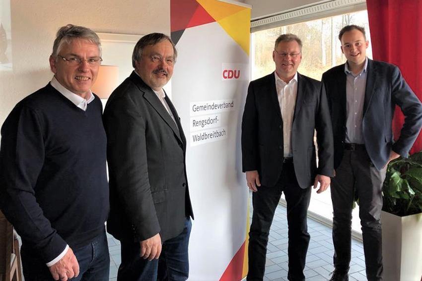 CDU zieht Bilanz: Ein Jahr VG Rengsdorf-Waldbreitbach