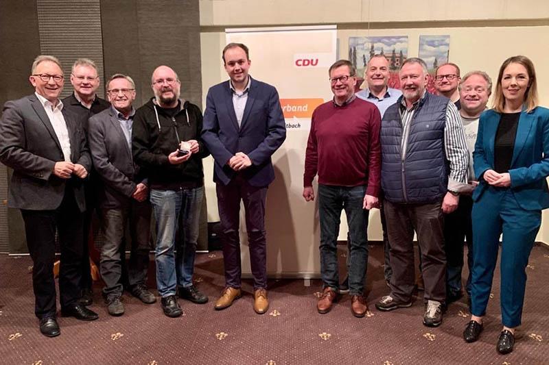 CDU-Ortsverband Waldbreitbach wählt neuen Vorstand