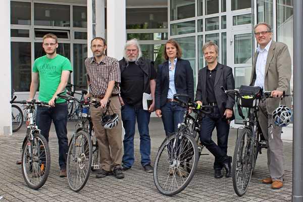 ADFC-Klimatestergebnisse für Bad Honnef vorgestellt