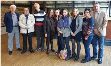 Offizieller Empfang im Kulturwerk. Foto: pr