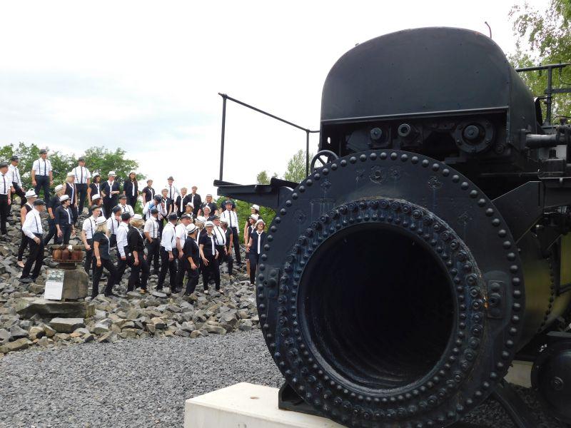 1.Westerwälder Chor-Fest im Stöffel-Park erfüllte alle Erwartungen