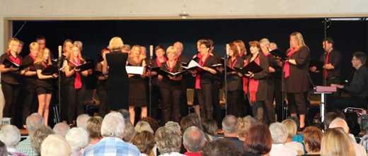 Gro�es Chor-Kino in M�schenbach begeisterte das Publikum