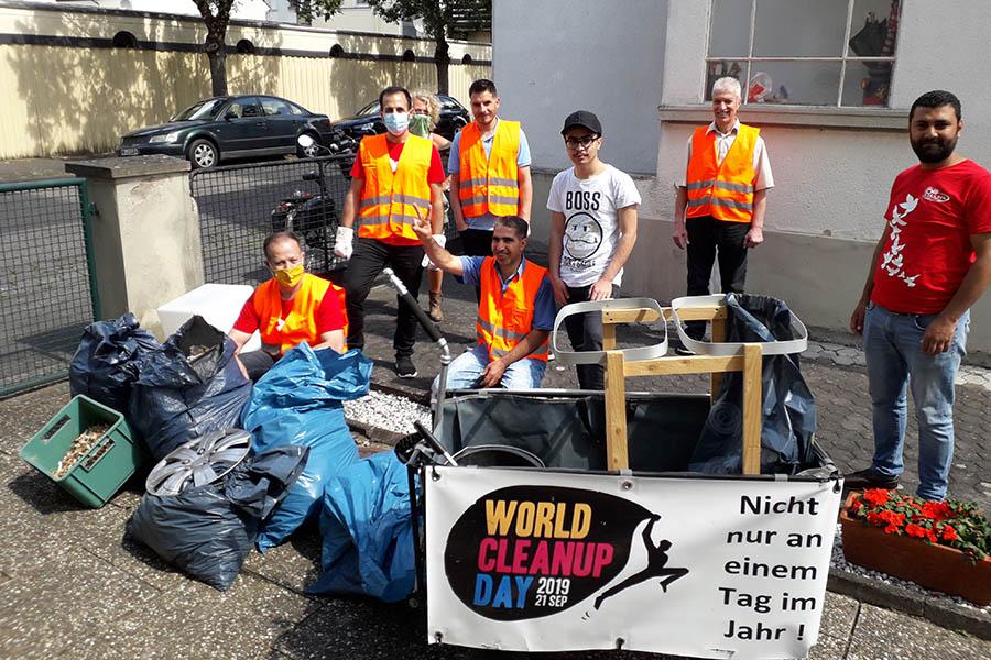 Neuwied: Cleanup im Hofgründchen und Umgebung