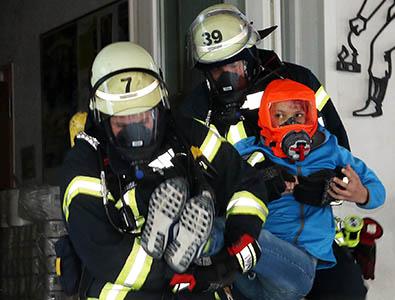 Feuerwehr der VG Daaden-Herdorf übte in Dermbach