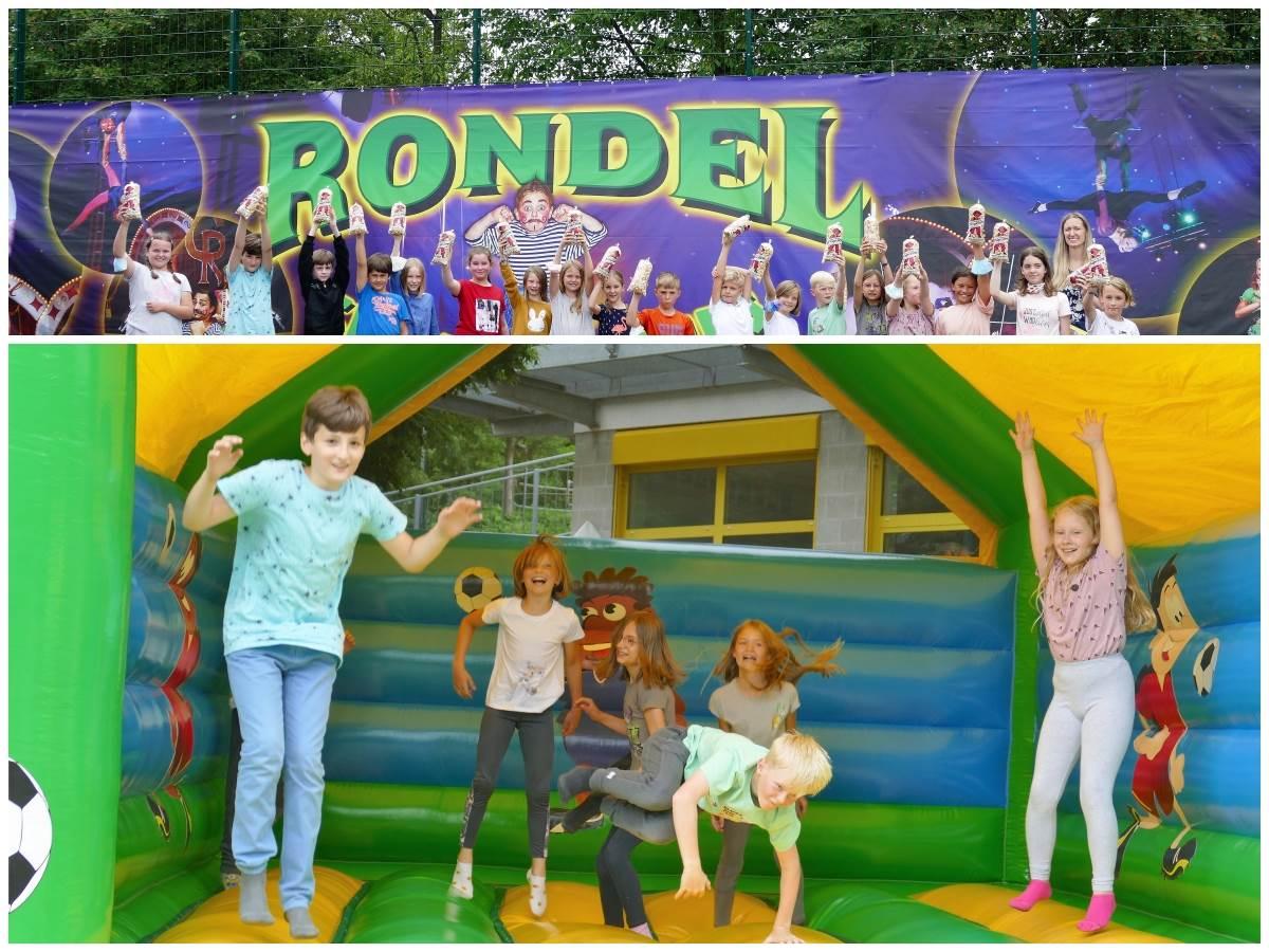 Grundschule Kirchen: Circus Rondel sorgt für glückliche Kinder