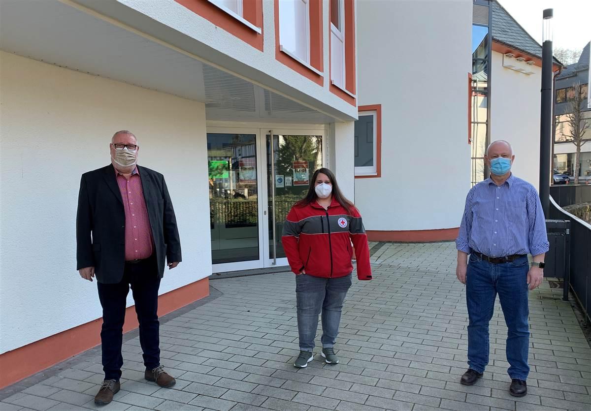 Weiteres Corona-Testzentrum im Bürgerhaus Daaden eingerichtet