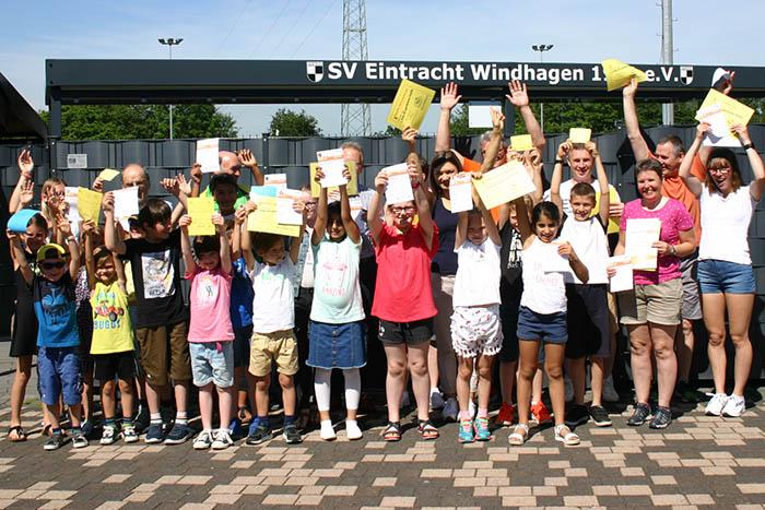 Sportmäuse und Sportabzeichen in Windhagen verliehen
