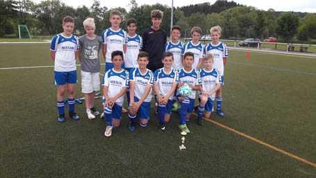 D-Jugend-Team der JSG Wisserland feierte Abschluss