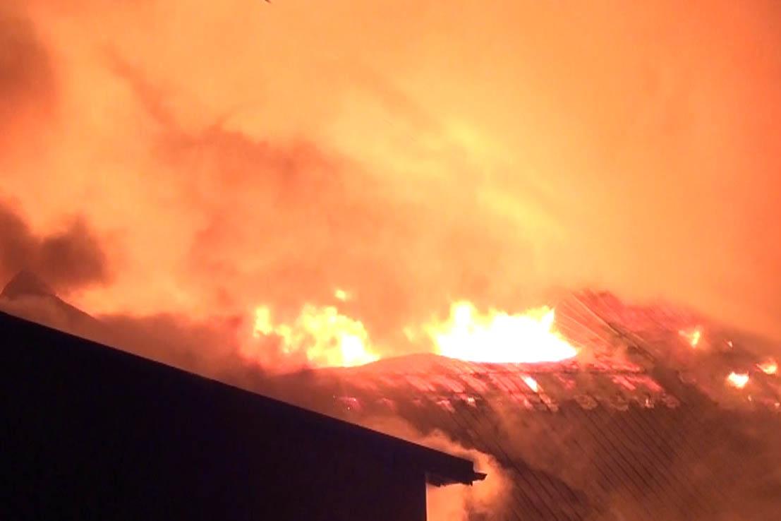 Teurer Dachstuhlbrand – Fall des Monats September 2021