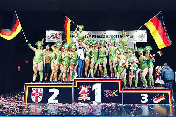 Dance Emotions Welschneudorf werden Deutsche Vizemeister