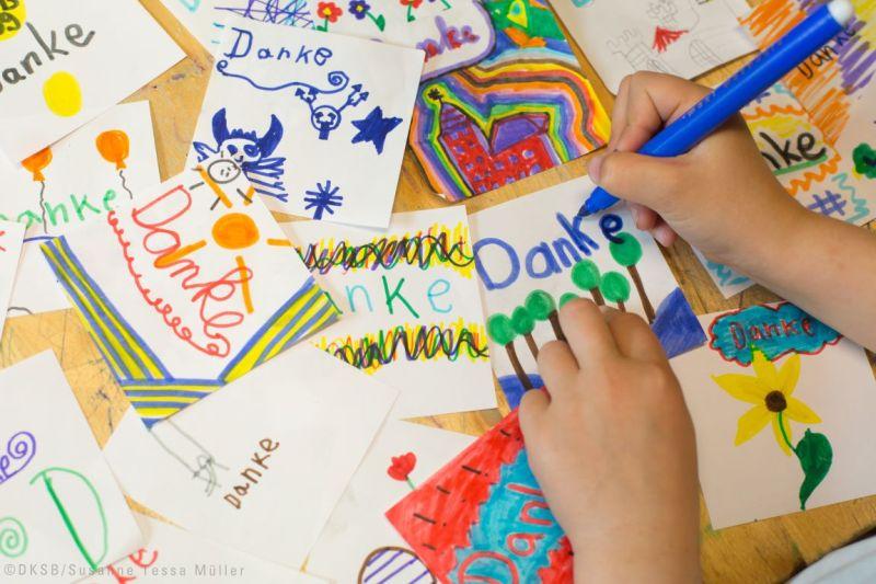 Der Kinderschutzbund bedankt sich. Foto: Susanne Tessa Müller