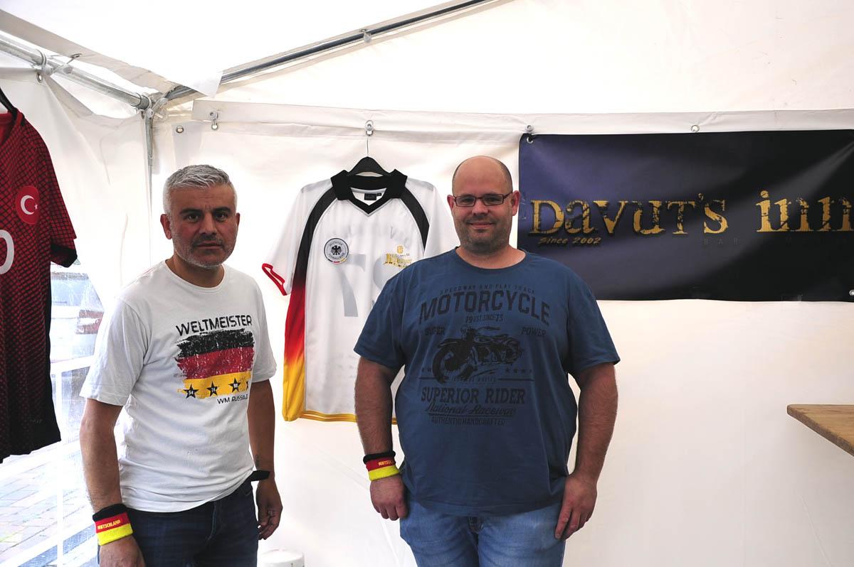 Davut Kilic (links) und Christian Bergk sind schon voll im Europameisterschafts-Modus. Foto: KKÖ