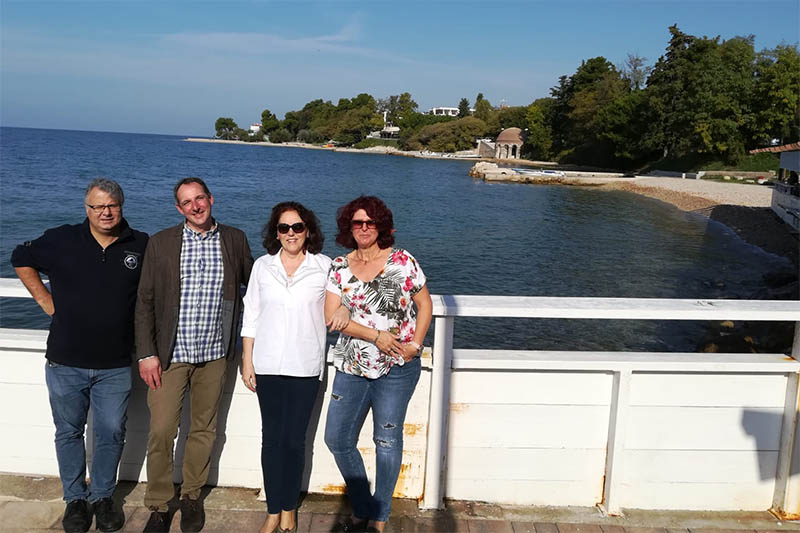 Von und mit Freunden lernen – Delegationsreise nach Kroatien