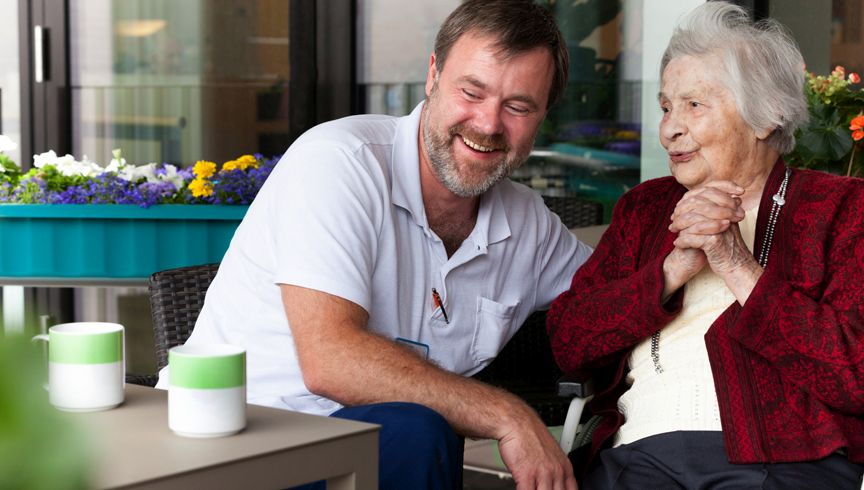 Menschen mit Demenz im Krankenhaus sind Thema