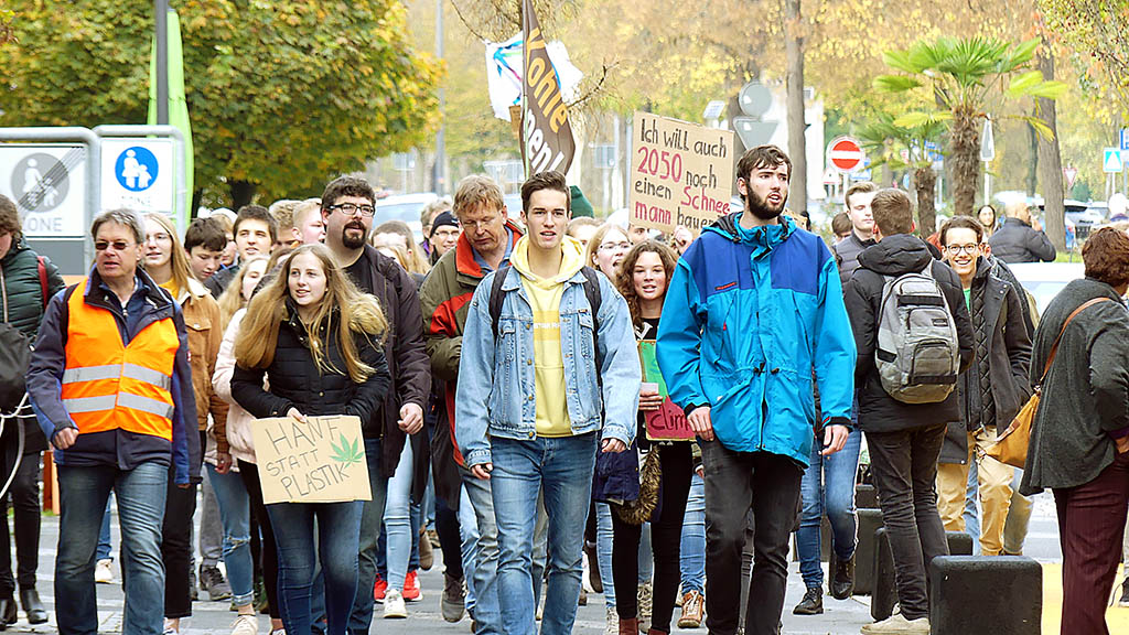 Fridays for Future demonstrierten in Neuwied - NR-Kurier - Internetzeitung für den Kreis Neuwied