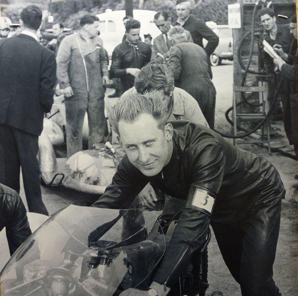 Max Deubel mit Gespann 1961. Fotos: privat