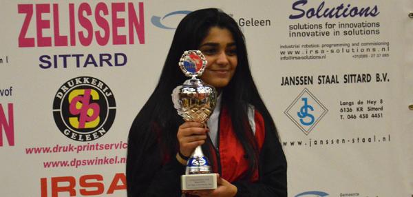 Priti Pelia qualifiziert sich für Karate-Weltmeisterschaft