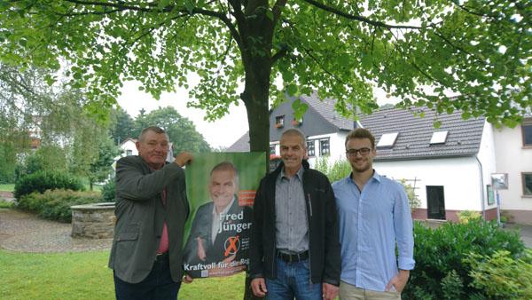 FDP unterst�tzt Fred J�ngerich