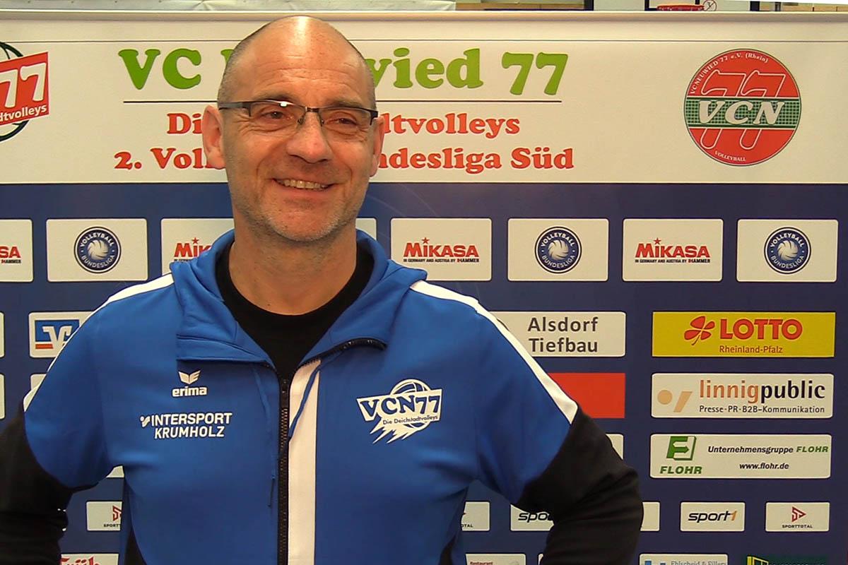 VC Neuwied 77: Mit Dirk Groß in die erste Bundesliga