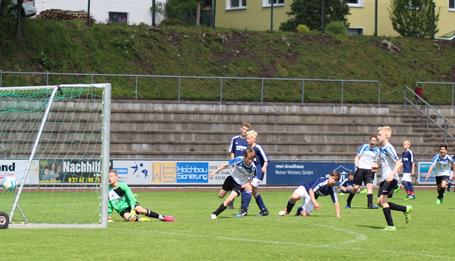 D-Jugend der JSG Wisserland beim letzten Spiel erfolgreich
