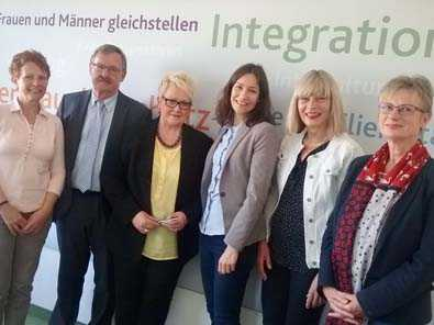 Donum vitae traf sich mit Familienministerin Anne Spiegel