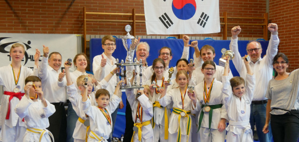 Dragon-Cup: Taekwondo-Turnier in Flammersfeld war ein Erfolg