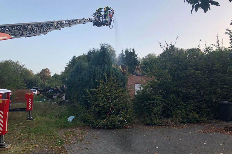 Erneuter Brand auf Ex-Aussiedlerhof in Dreisbach