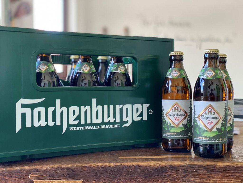 Warum stellt Hachenburger genau jetzt auf ein neues Flaschengebinde um?