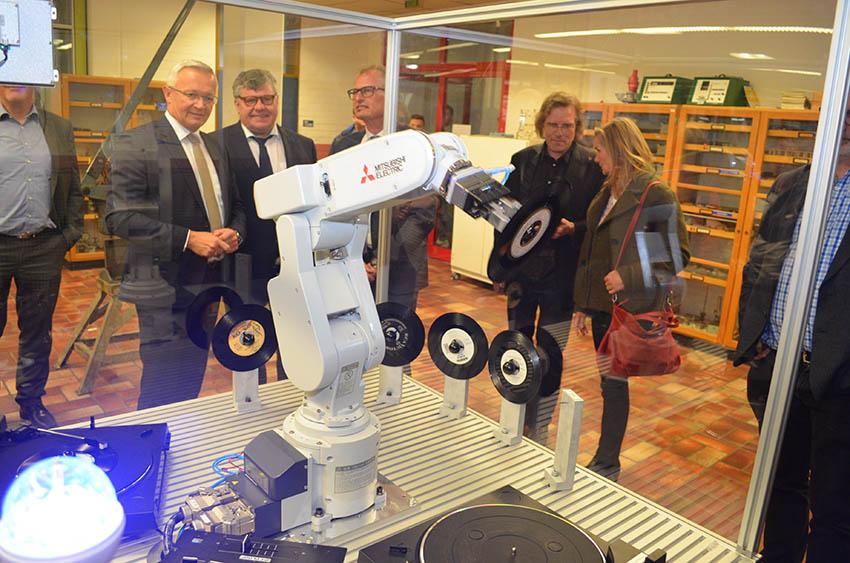 David-Roentgen-Schule bei Hannover Messe dabei