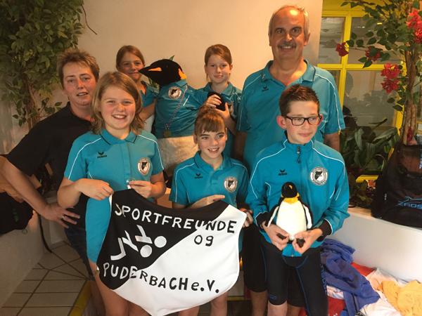 SF 09 Puderbach beim Schinderhannesschwimmfest erfolgreich
