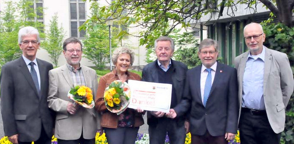Jubiläumsehrenamtskarte wurde verliehen